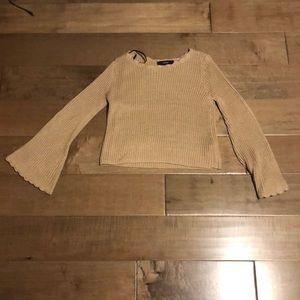 Long sleeve crochet sweater